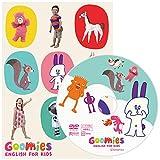 Goomies ENGLISH FOR KIDS 幼児英語 DVD 子供 英語 フラッシュカード