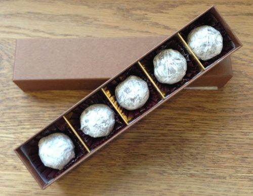 贈り物に最適!スイスの想い出 シャンパントリュフ 5個入り 博多の洋菓子店 ラフェブルー・ポンヌフ