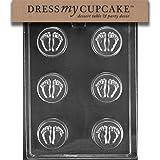 ドレスMyカップケーキチョコレートキャンディ金型、ベビーフィートクッキー金型、ベビーシャワー
