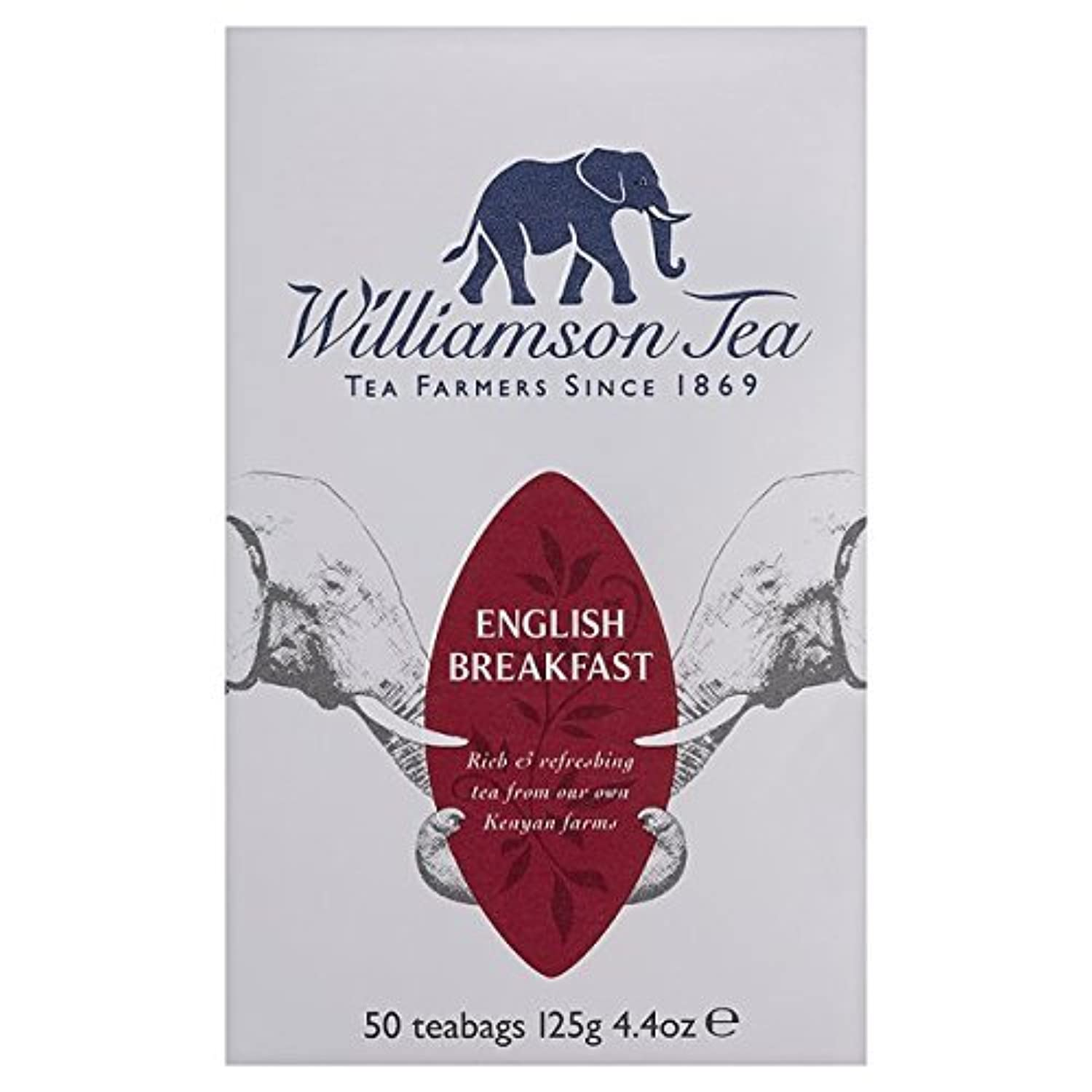 Williamson English Breakfast Tea Bags 50 per pack by Williamson