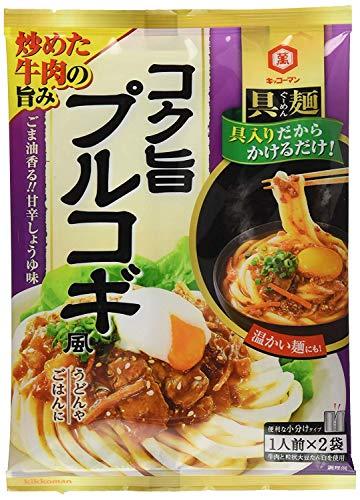 キッコーマン 具麺 コク旨プルコギ風 116g×5個