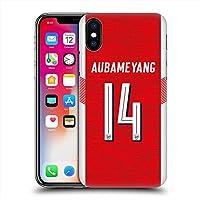ARSENAL FOOTBALL CLUB アーセナルFC - Pierre-Emerick Aubameyang 【ソフトcase】 / iPhoneケース 【公式/オフィシャル】