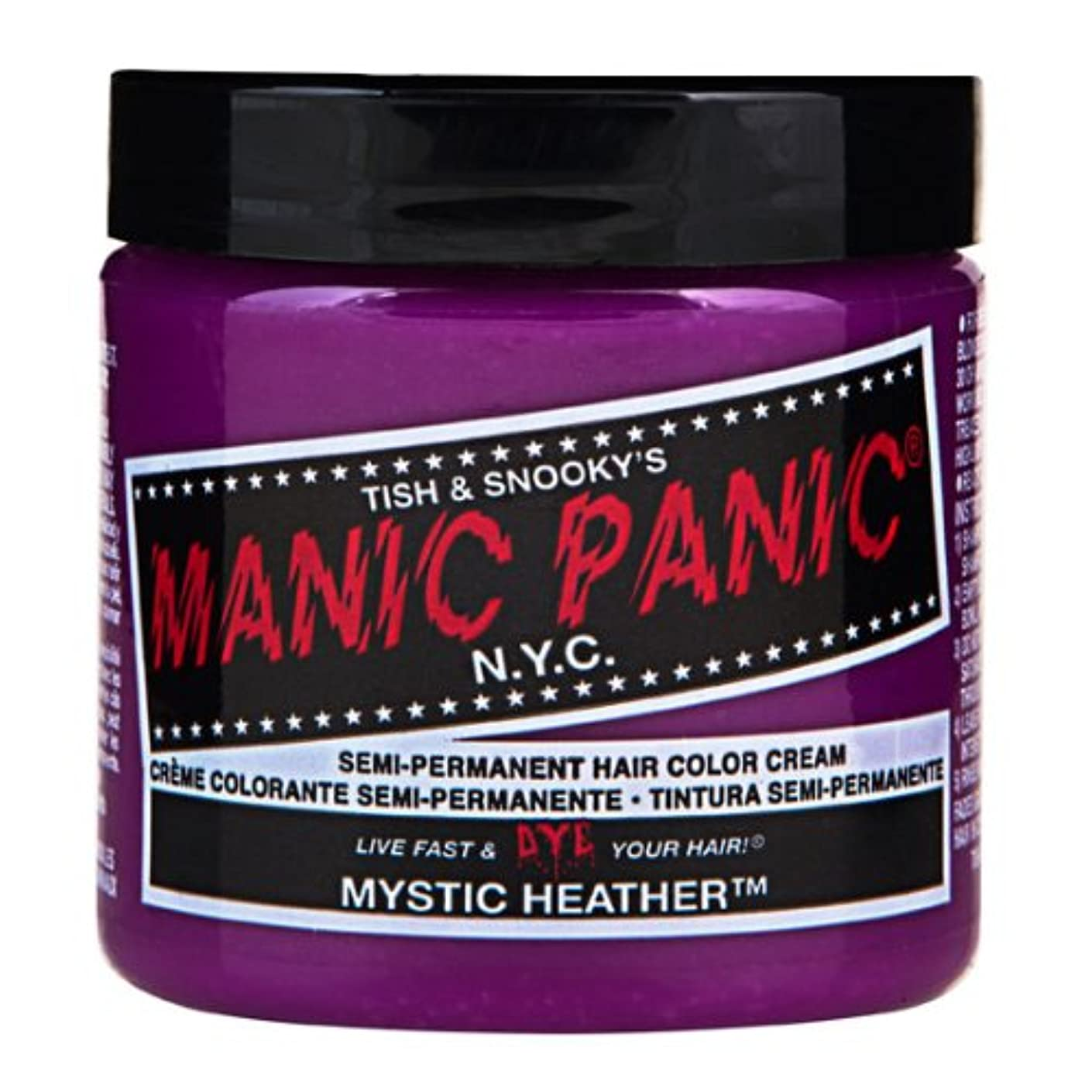 麺苦悩うねるマニックパニック MANIC PANIC ヘアカラー 118mlミスティックヘザー ヘアーカラー