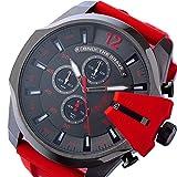 ディーゼル DIESEL メガチーフ クロノ クオーツ メンズ 腕時計 DZ4427 ブラック