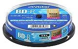 ビクター(Victor) 1回録画用 BD-R VBR130RP10SJ1 ?(片面1層/1-6倍速/10枚)