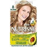 [Nutrisse] 8ブロンドの永久染毛剤Nutrisseガルニエ - Garnier Nutrisse 8 Blonde Permanent Hair Dye [並行輸入品]