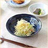 雲海 煮物中鉢 中鉢 サラダ鉢 和鉢 とんすい 肉じゃが鉢 多用鉢 青い器 和食が似合う 和食器 国産 美濃焼
