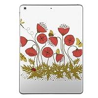 iPad Air2 スキンシール apple アップル アイパッド A1566 A1567 タブレット tablet シール ステッカー ケース 保護シール 背面 人気 単品 おしゃれ フラワー 花 フラワー 006179