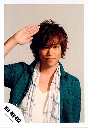 Kis-My-FT2・【公式写真】・・ 千賀健永・✩ ジャニーズ公式 生真【スリーブ付】 sa 144