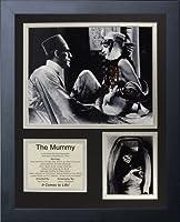 """Legends Never Die """" 1932The Mummyインチフレーム写真コラージュ、11x 14インチ"""