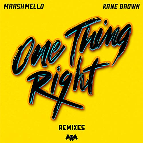 One Thing Right (Remixes)