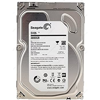 Seagate シーゲイト 内蔵ハードディスク SV35 3TB ( 3.5 インチ / SATA 6Gb/S / 7200rpm / 64MB ) 正規輸入品 ST3000VX000