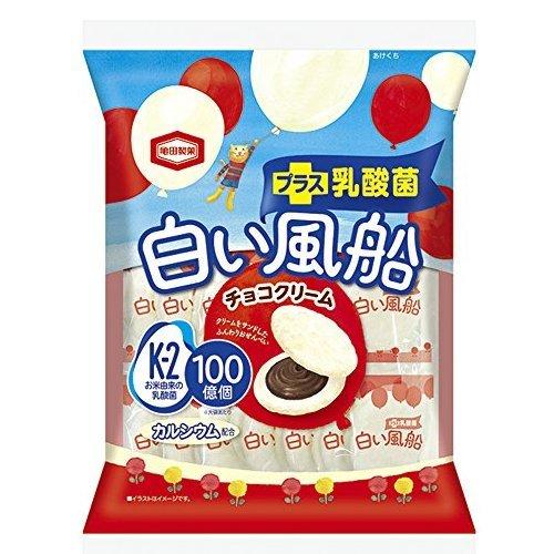 亀田製菓 白い風船チョコクリーム 18枚