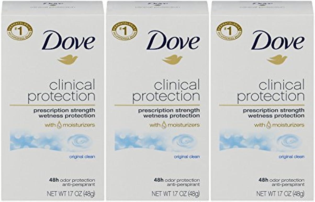 無火山学者驚いたDove Clinical Protection Antiperspirant Deodorant, Original Clean, 1.7 Oz by Dove