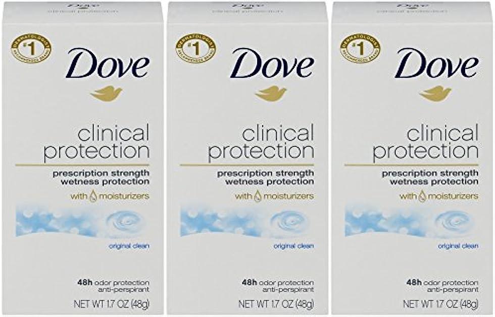ウィザード魅力的であることへのアピール道徳教育Dove Clinical Protection Antiperspirant Deodorant, Original Clean, 1.7 Oz by Dove
