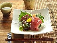 【M'home style】白い食器 高級料亭重ね正角皿 ホワイトレベル1