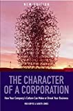 The Character of a Corporation