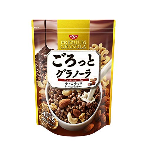 日清シスコ ごろっとグラノーラ チョコナッツ 400g