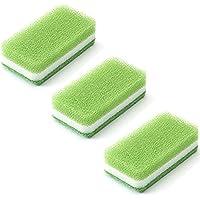 ダスキン 台所用スポンジ〈抗菌タイプ〉ライトグリーン 3個セット