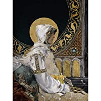 Joaquin Sorolla Santa In Prayer 1888 Painting Unframed Wall Art Print Poster Home Decor Premium ペインティング壁ポスターホームデコ