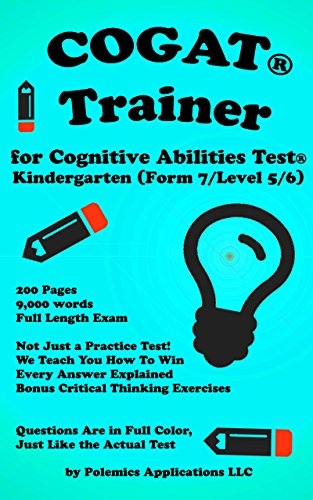 amazon the cognitive ability trainer practice test and training
