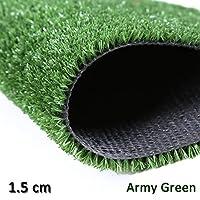 GAPING 高密度 人工芝 パイルの高さ1.5 Cm 遮音 防塵 ドレン穴付き 合成芝生 に適しています 壁の装飾/学校/屋外の装飾 (Size : 2x3m)