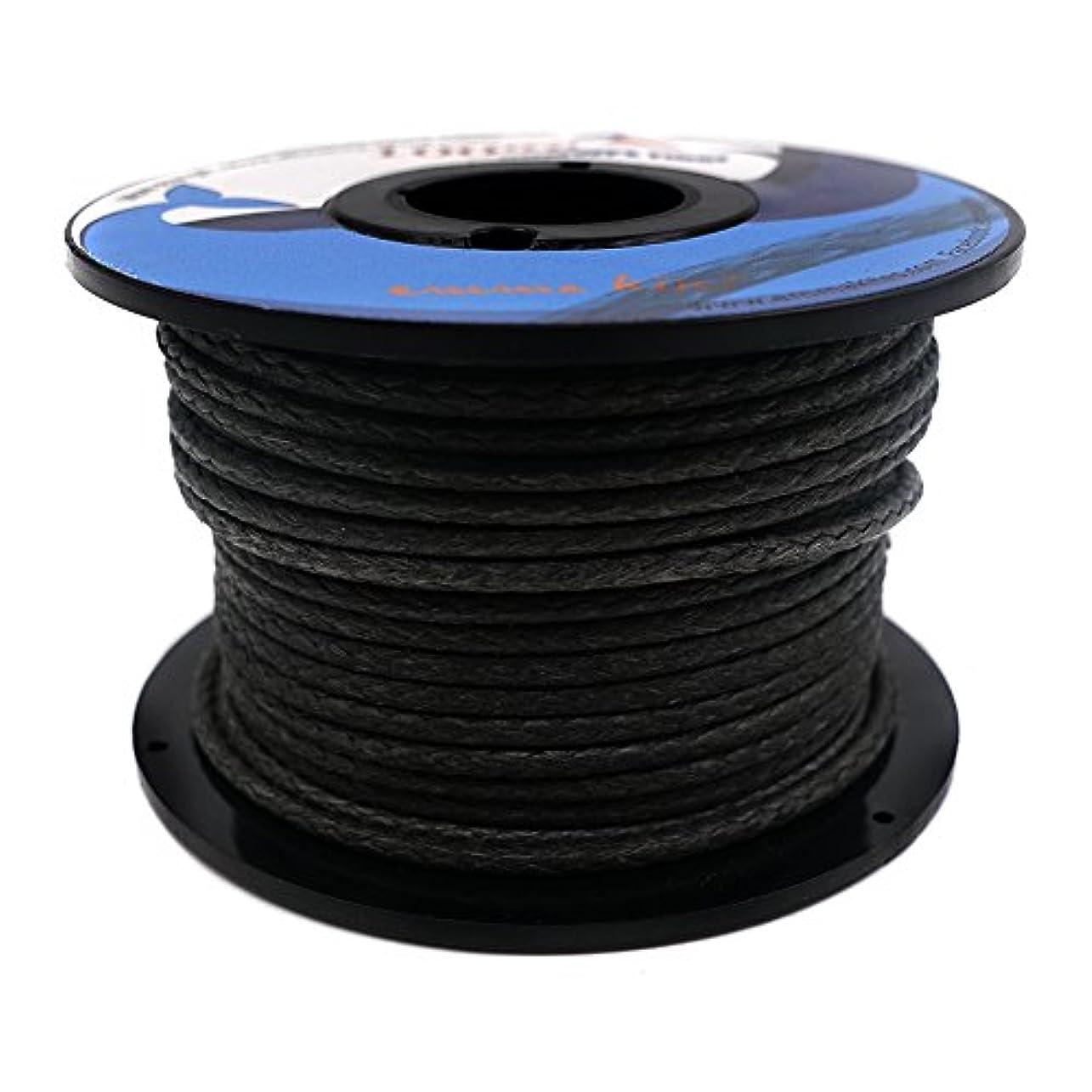 行列会話型上下するEMMAKITES 100%ダイニーマ 超高強度ポリエチレン繊維 45kg~3500kg 破断強度 0.6mm~6mm直径 アウトドア パラコード テント ハンモックロープ キャンプ サバイバル 一般使用