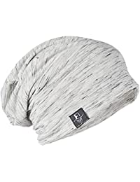 メンズニット帽子 夏用 大きいサイズ ゆるシルエットのニットキャップ 医療用帽子 ユニセックス B079