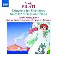 ピラティ: 管弦楽ための協奏曲 他