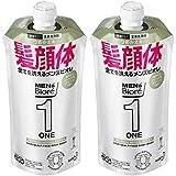 【まとめ買い】メンズビオレ ONE オールインワン全身洗浄料 ハーバルグリーンの香り つめかえ用 340ml×2個