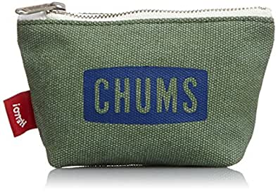 [チャムス] CHUMS Washed Canvas Coin Case CH60-0873 OLV (Olive)