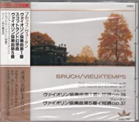 ブルッフ/ヴァイオリン協奏曲第1番ト短調op26・スコットランド幻想曲op46 ヴュータン/ヴァイオリン協奏曲第5番イ短調op37 ANC148