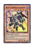 遊戯王 英語版 CORE-EN023 Red-Eyes Archfiend of Lightning 真紅眼の凶雷皇-エビル・デーモン (スーパーレア) 1st Edition
