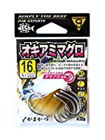 がまかつ(Gamakatsu) シングルフック A1 オキアミマグロ 16号 5本 銀 68453