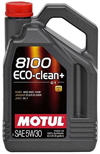 MOTUL(モチュール) 8100 Eco-clean+ 5W30 4L 100%化学合成オイル [正規品] 11112931