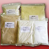 低糖質食品 糖質制限食材 5点セット パン約10斤分 (超微粉大豆粉1kg 小麦グルテン1kg 焙煎ふすま500g エリスリトール500g シトラスファイバー250g (チャック付き袋))