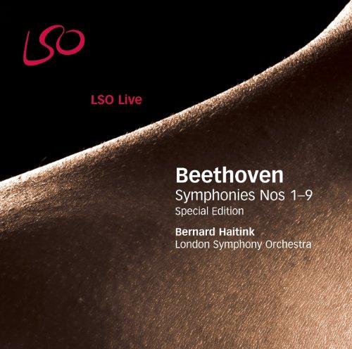 ベートーヴェン : 交響曲全集 (Beethoven : Symphonies Nos 1-9 ~ Special Edition / Bernard Haitink , London Symphony Orchestra) (6 SACD Hybrid) [輸入盤] [日本語歌詞訳・解説書付]