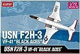 アカデミー 1/72 F2H-3 バンシー VF-41 ブラックエイセス プラモデル 12548