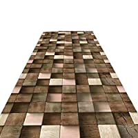 JIAJUAN 廊下のカーペット ランナー ラグ 丈夫 滑り止め キッチン エントランス ドア マット 洗える、 2つの様式、 マルチサイズ、 カスタマイズ可能 (色 : B, サイズ さいず : 1.2x3m)