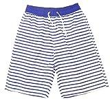 (ザッカリーズ) ZACCARY's ビーチ に映える メンズ サーフパンツ 爽やか ボーダー 柄 + スノーマーク 防水 水着 バッグ 計2点セット 海水パンツ 海 パン