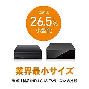 BUFFALO 外付けハードディスク 4TB テレビ録画/PC/PS4対応 静音&コンパクト 日本製 故障予測 みまもり合図 HD-AD4U3