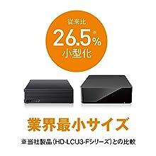 【Amazon.co.jp限定】BUFFALO USB接続 外付けハードディスク テレビ録画対応 日本製 みまもり合図 4TB HD-AD4U3