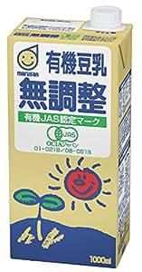 マルサン 有機豆乳無調整 1L×6本