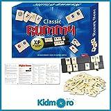 Kidmoro Rummy Tile Board Game, Deluxe 2-6 Players