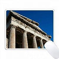 ギリシャのヘファステスの寺院。 PC Mouse Pad パソコン マウスパッド