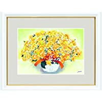 【風水画・絵画・開運画】 幸せのブーケ よろこびの黄色いブーケ(中)金運 西  新築・開店・開業・結婚祝い 人気ランキング プレゼント 贈り物 ギフト
