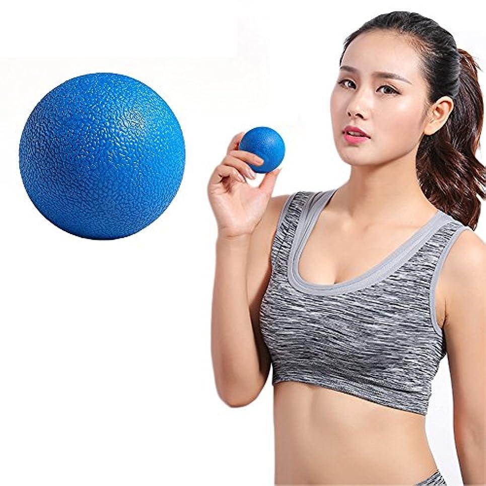 有名な刺す光景Zafina マッサージボール トリガーポイント ストレッチボール 筋膜球 筋膜リリース 指圧ボール 首から足裏まで全身に使える 血液循環 エクササイズグッズ 1個入り