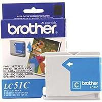 3x Brother Innobella lc51Cインクカートリッジ, 400ページYield、シアン