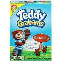 Teddy Graham Graham Snacks_Chocolate 10oz テディグラハム グラハムスナックス チョコレート味 283g [並行輸入品]