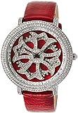 [ブルッキアーナ]BROOKIANA スピンウォッチ ジルコニアストーン クオーツ レッド×レッドレザー BA2310-SVRD  腕時計